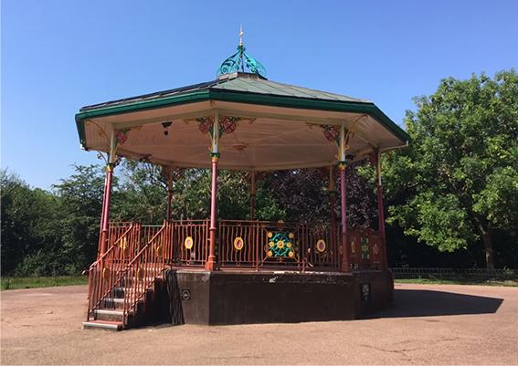 Bandstand Queens Park