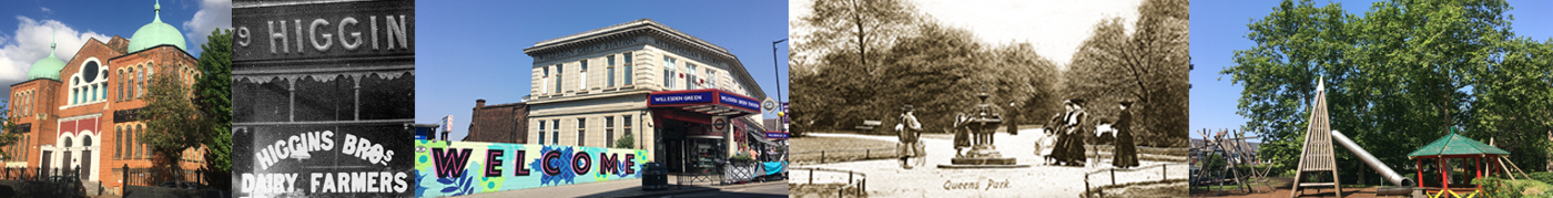 local history walks in Brent