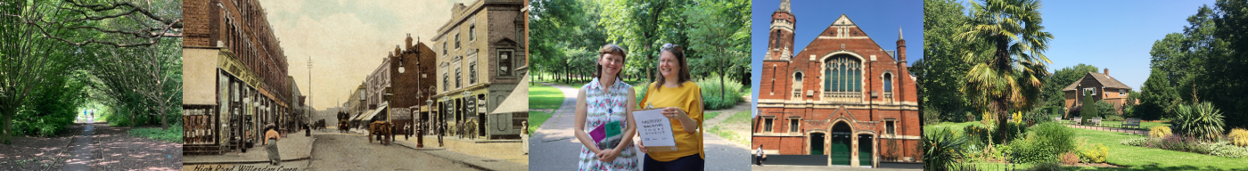Local history walking tours in Brent