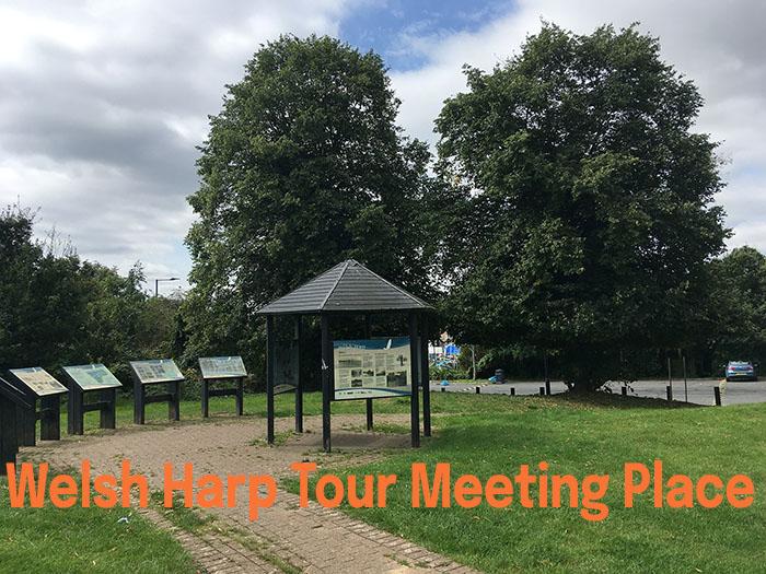 Welsh Harp Walking Tour meeting place